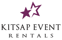 Kitsap Event Rentals. For tents, tables, chairs and more. Call us, your local event rentals company today for your upcoming event.